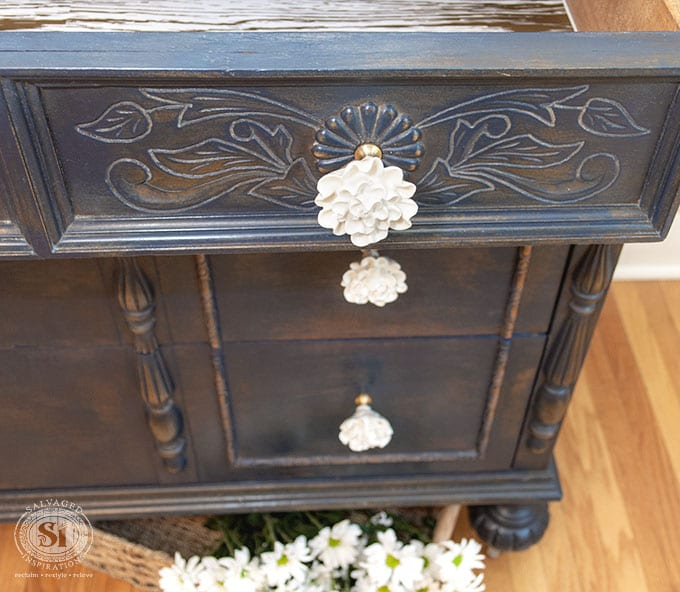 GF Coastal Blue Dresser Front