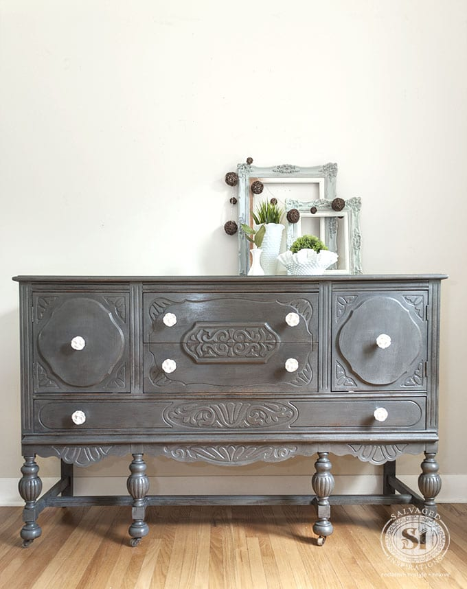 General Finishes Driftwood Buffet-SideBoard