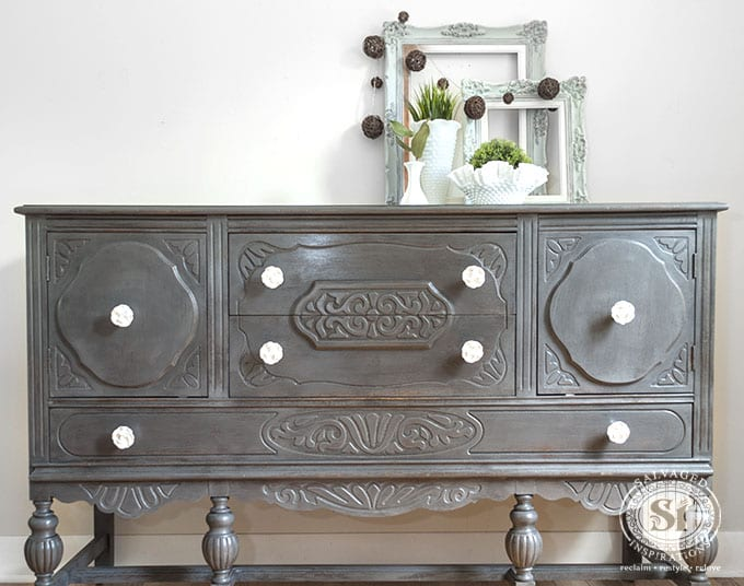 General Finishes Driftwood Vintage Buffet