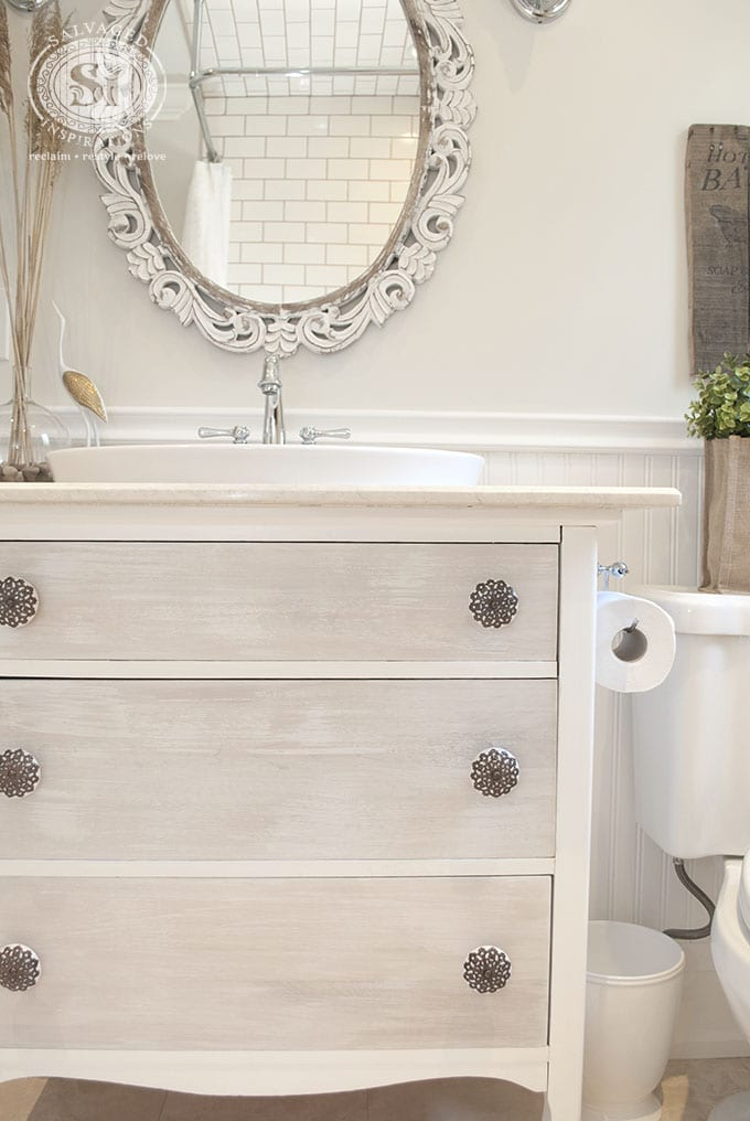 Repurosed Dresser into Vanity