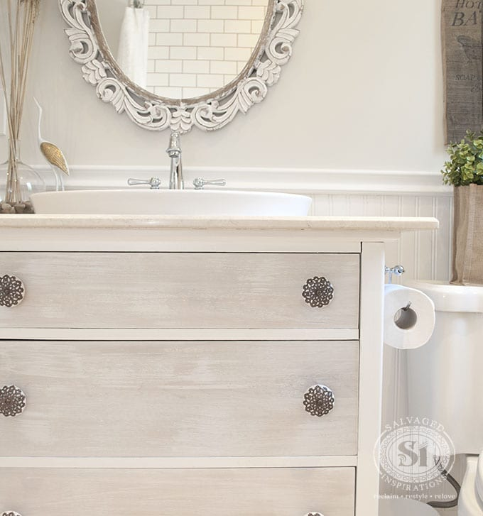 Repurosed Dresser into Vanity1