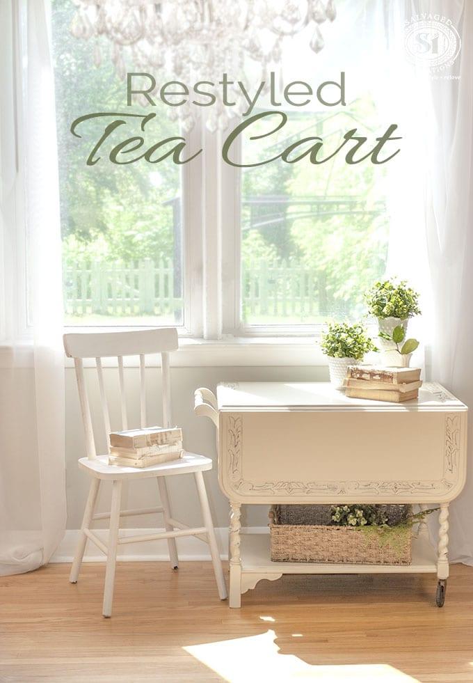 Restyled Tea Cart