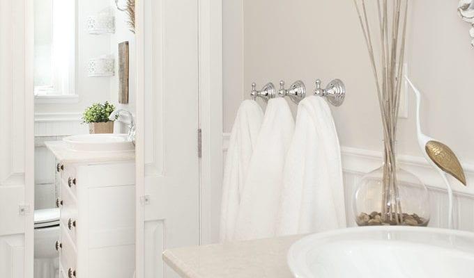 Salvaged Bathroom Reveal