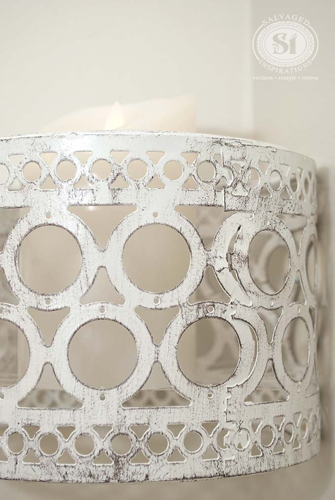 diy-floating wall candle