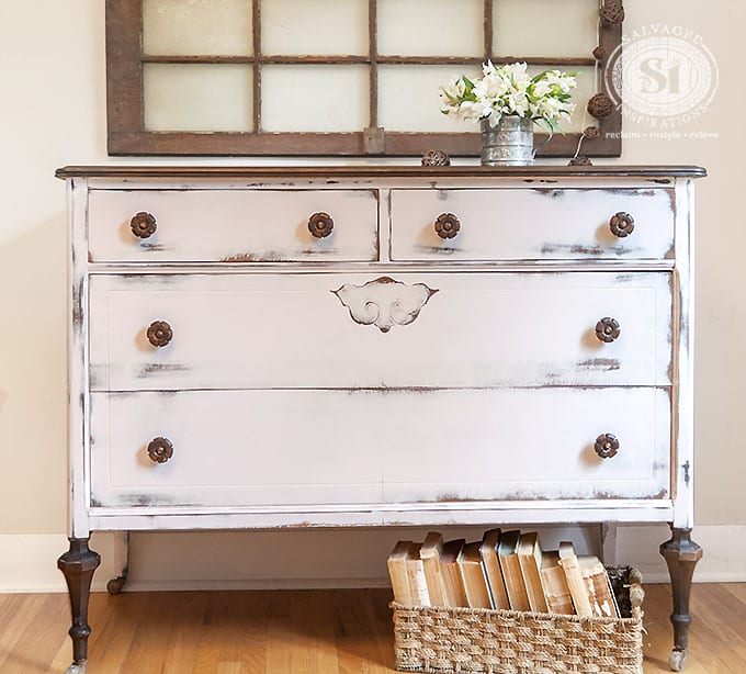 Pink Farmhouse Dresser - SI Blog