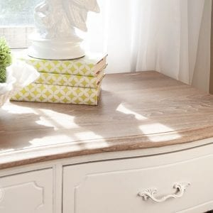 Annie Sloan White Wax | Desk Restyle