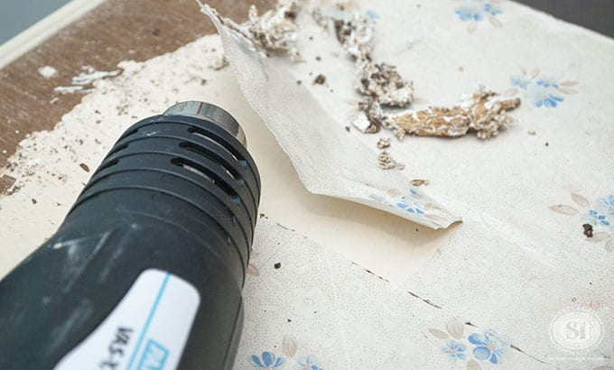 How To Remove Contact Paper Salvaged, How To Remove Contact Paper From Wood Cabinets
