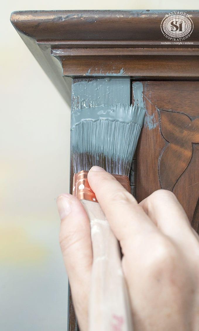 Bluestone House Barn Door Paint