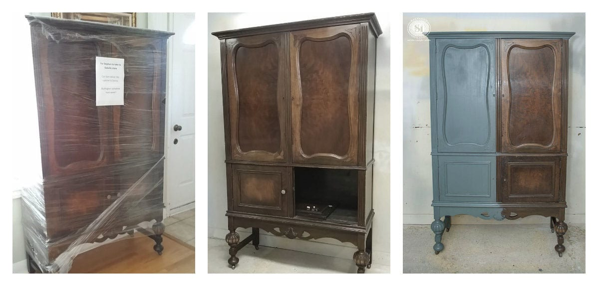 Millionaires Cabinet Before Restyle