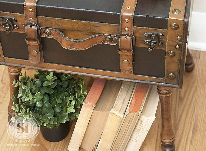 Salvaged Trunk Side Table1