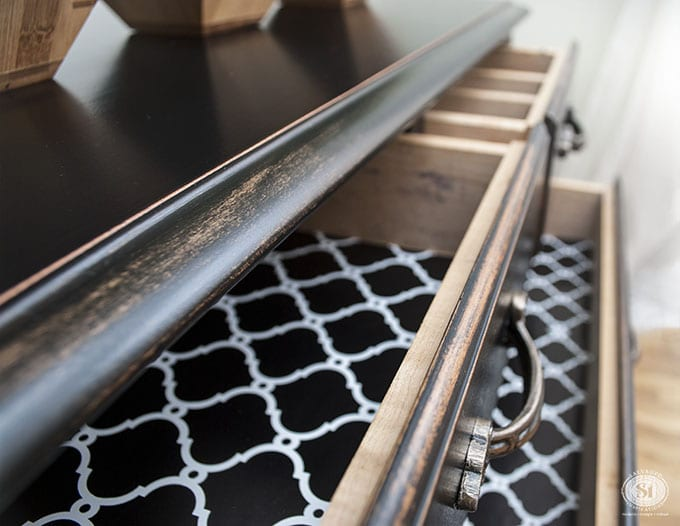 diy-painted-pottery-barn-black-drawer-liners