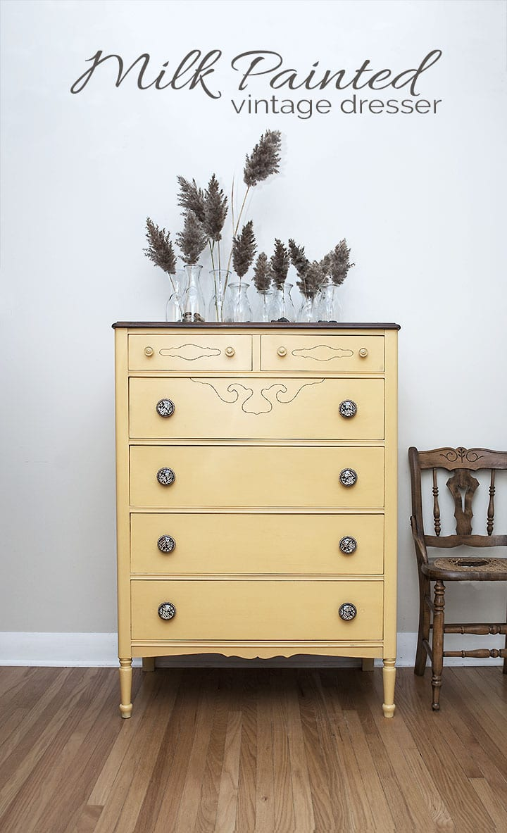 New Miss Mustard Seed | Mustard Seed Yellow - Salvaged Inspirations PW15