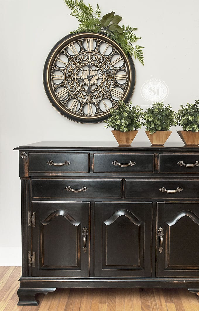 painted-pottery-barn-black-finish-buffet