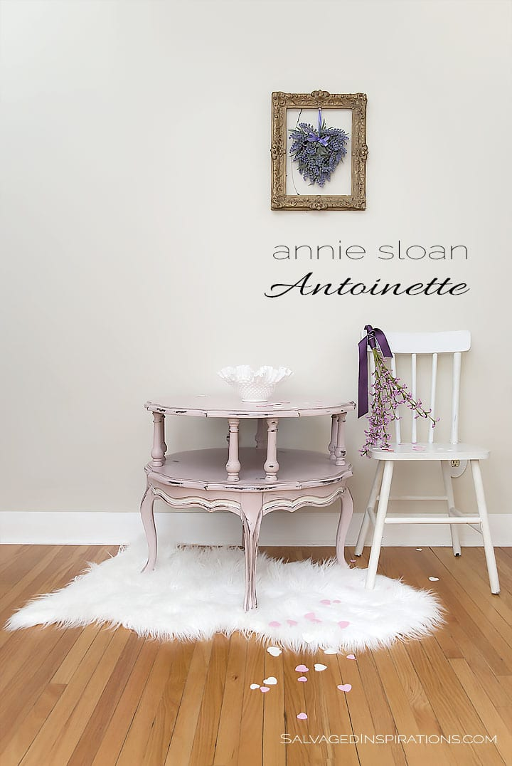 Annie Sloan Antoinette Table w Text