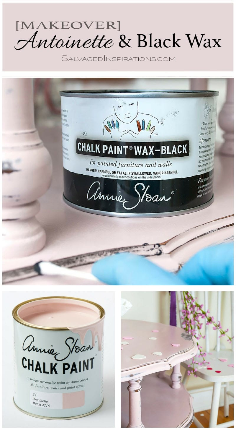 Antoinette & Black Wax Makeover Collage