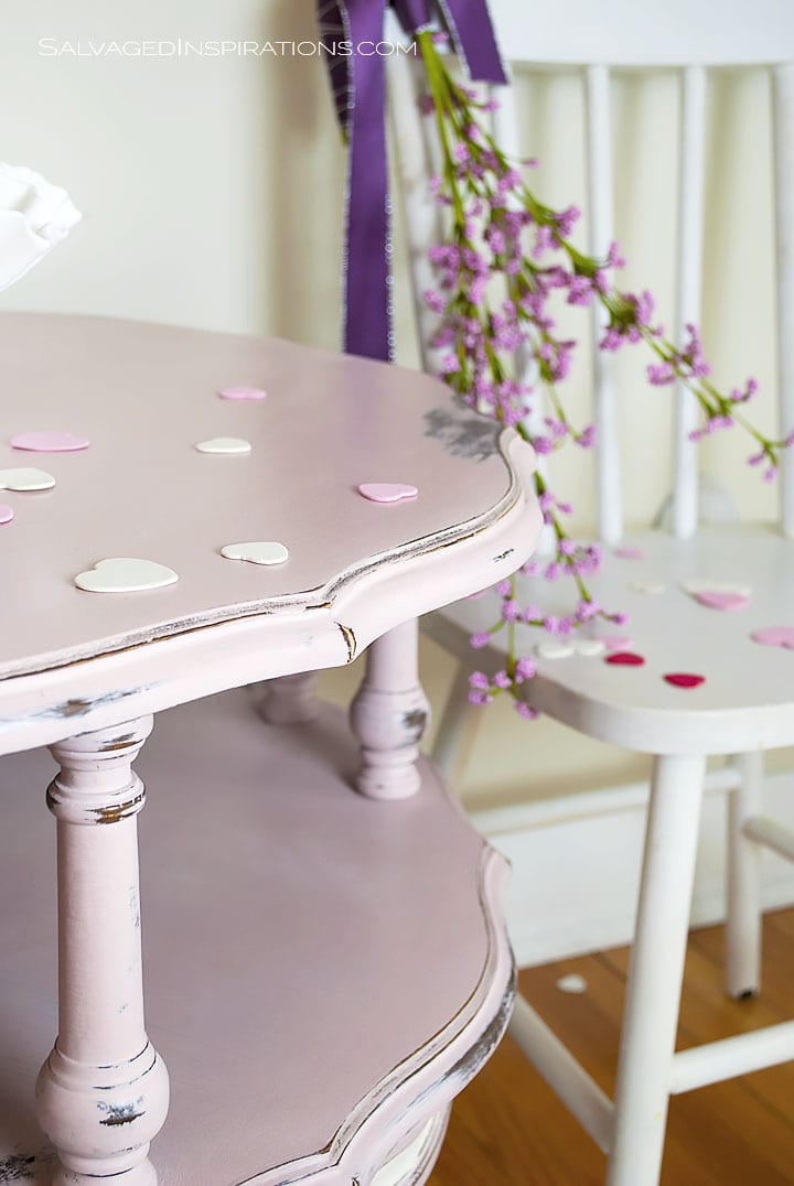 Chalk Painted Antoinette Table