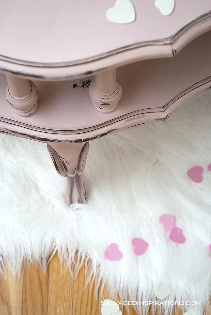 Pink Antoinette w Black Wax