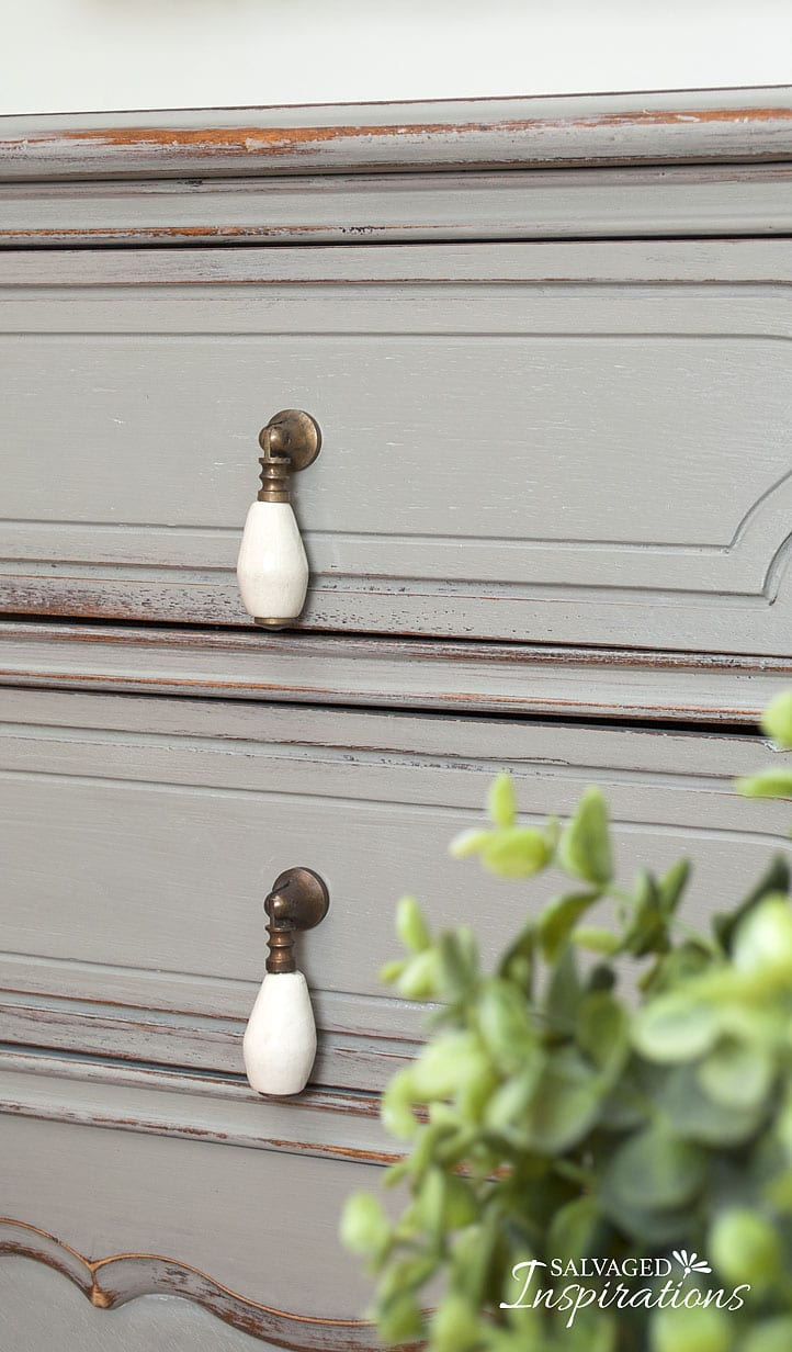 Wet Distressed Painted Furniture