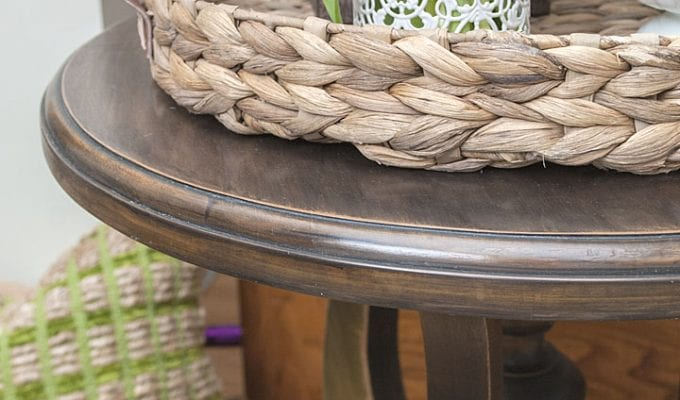 Black Wash Wood Furniture | SideTable Restyle