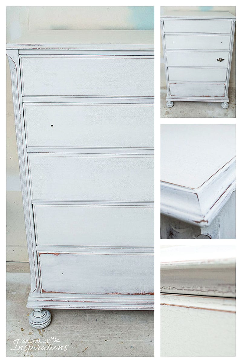 GrainSack Crackle Dresser -Before