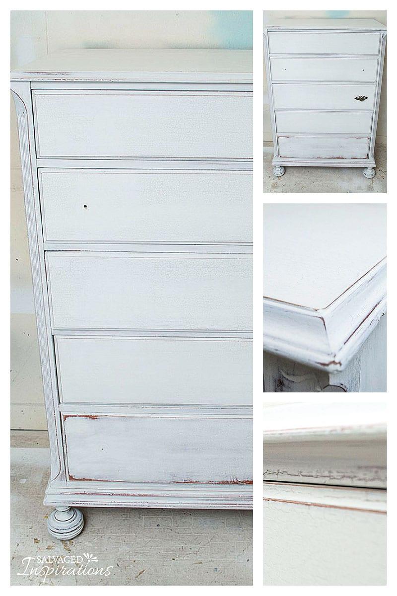 GrainSack Crackle Dresser -Before