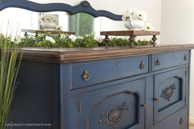 Bunker Hill Blue Buffet - Dixie Belle Paint Co