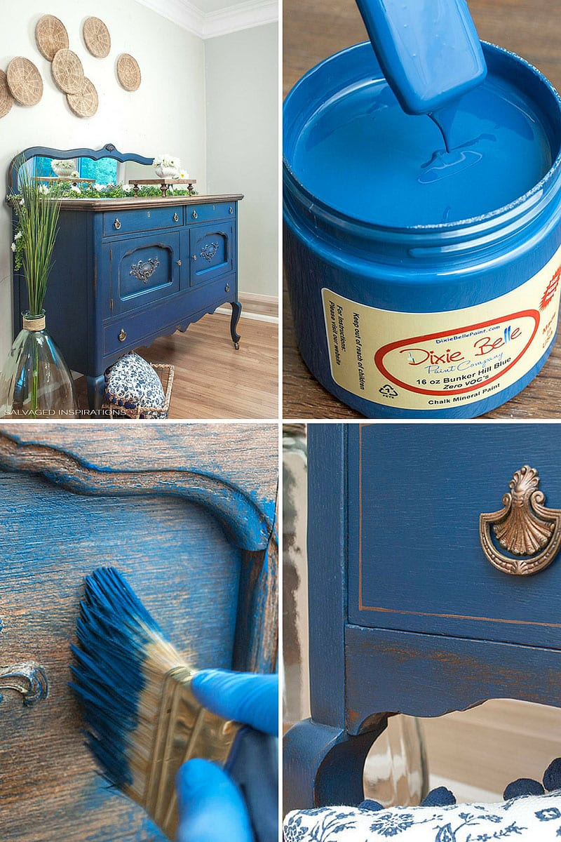 Dixie Belle Paints Bunker Hill Blue Salvaged Inspirations