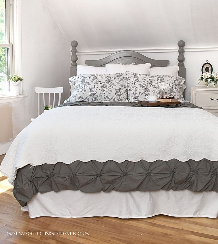 AS French Linen Salvaged HeadBoard