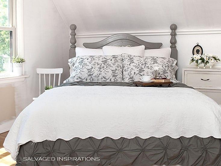 Bedroom Makeover Progress & HeadBoard Restyle - SI Blog