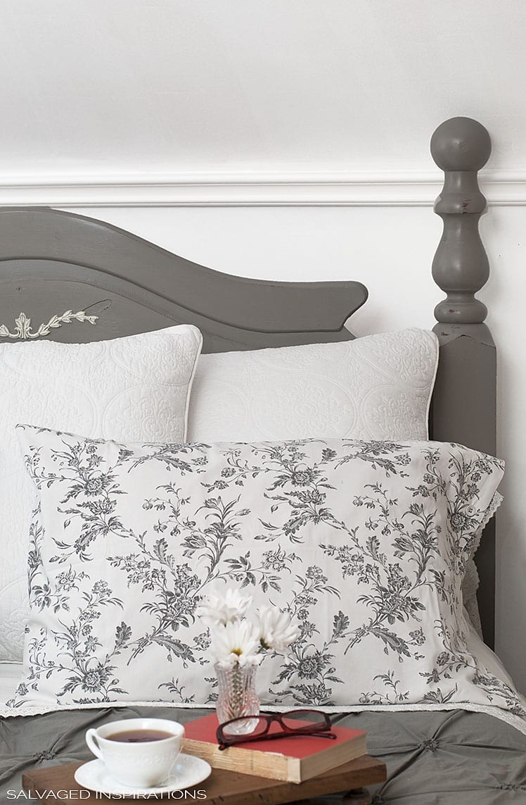 Salvaged Inspirations - Master Bedroom Makeover