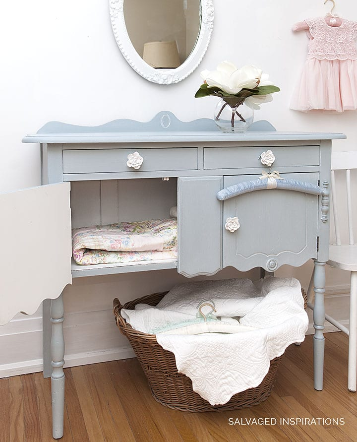 Painted Buffet w DB Savannah Mist