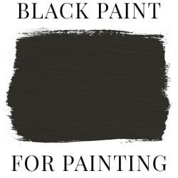 Best Black Paint for Painting Furniture + AS Graphite Swatch