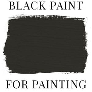 Best Black Paint for Furniture