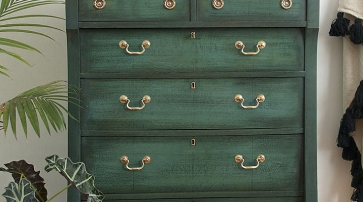 Layering Chalk Paint | Empire Dresser Makeover