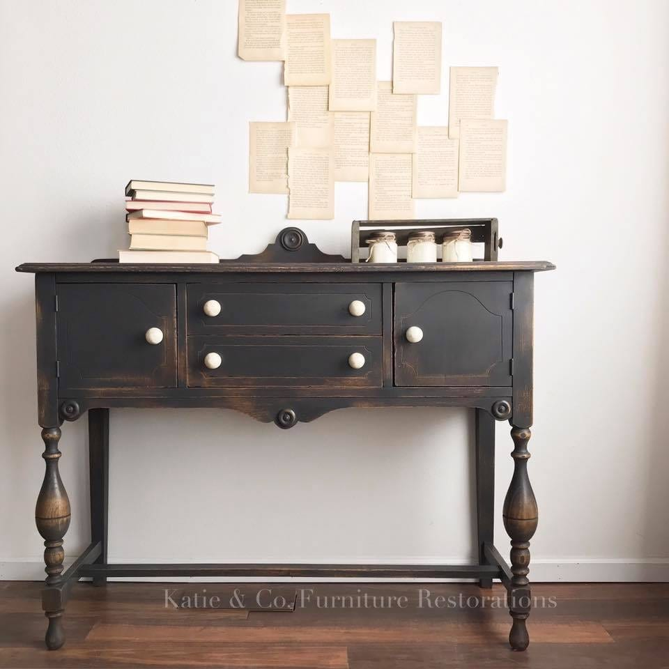 Famous Best Black Paint For Furniture - Salvaged Inspirations FH25