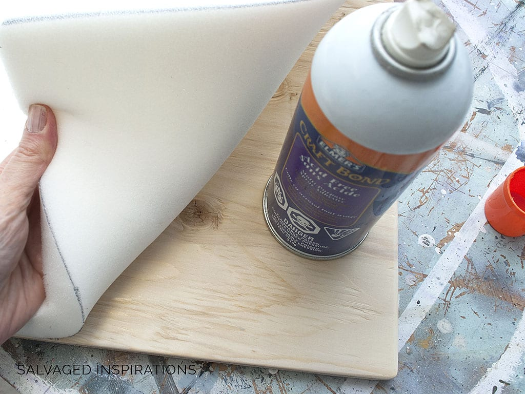 How To Upholster A Bench Seat Salvaged Inspirations