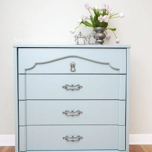 Persian Blue GF Milk Paint Dresser