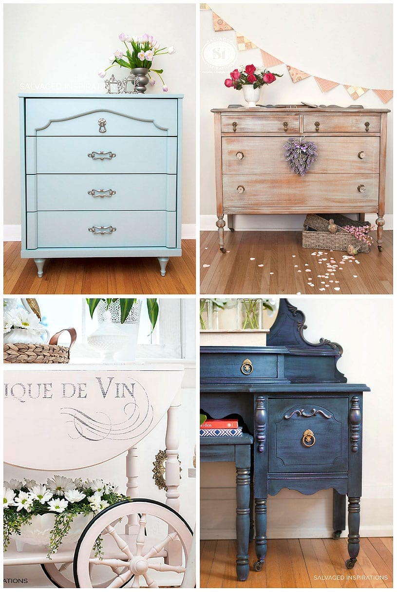 Romantic Painted Furniture - SIBlog
