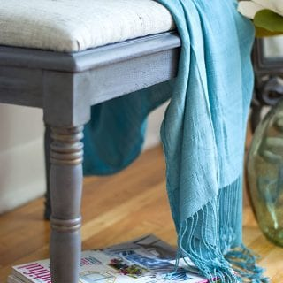 Upholstered Bench - Salvaged Inspirations