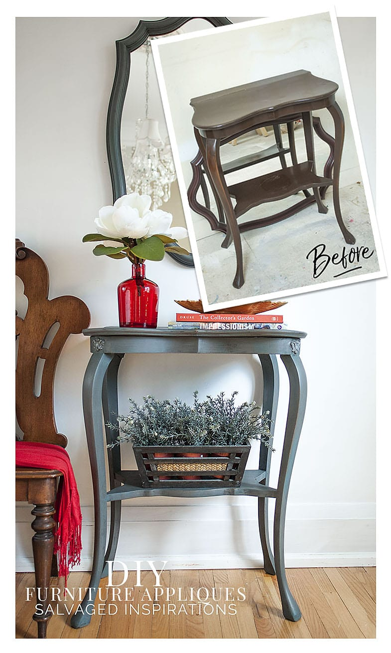 DIY Furniture Appliques - IOD Designs