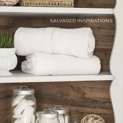 Use Laminate Floor Boards for Back of Cabinets!
