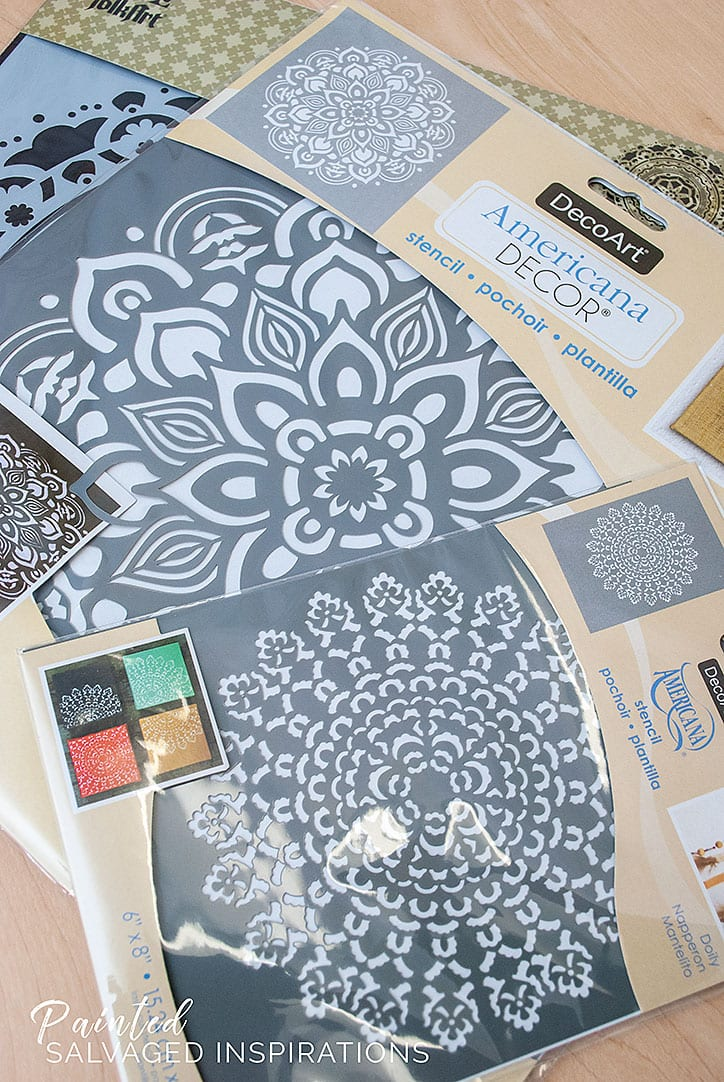 Mandala Stencils - Salvaged Inspirations