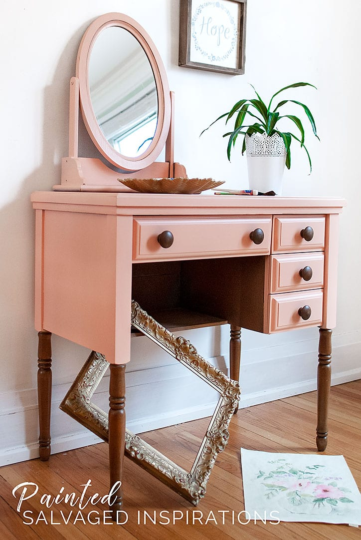 Painted-Furniture-DIY---Sewing-Desk-Makeover