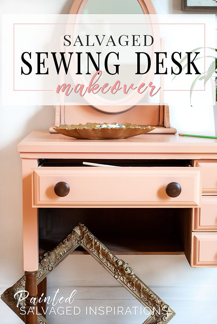 revamp decor table desk view a vintage gallery sewing to vanity diy in ways