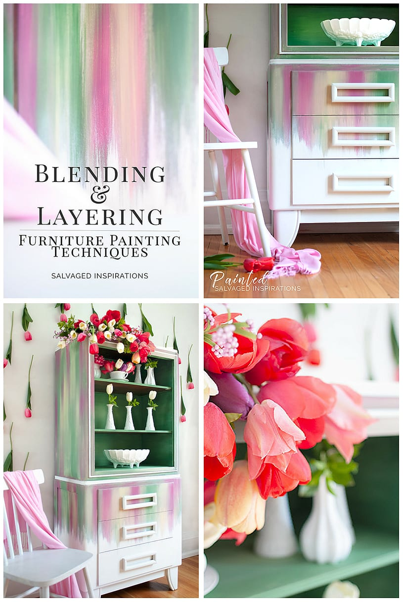 Blending and Layering Furniture Painting Techniques - SI Blog