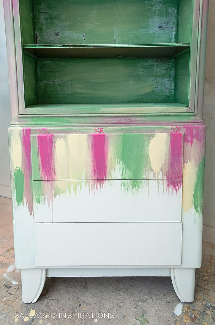 Layering Chalk Paint On Furniture