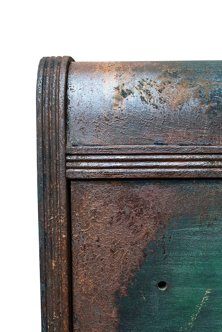 Activated Rust Patina on Dresser