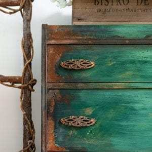 How To Paint Patina – Paintina Furniture!