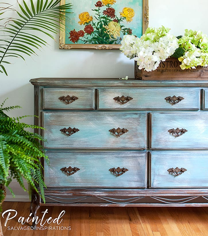 Today I M Sharing This 90 S Dresser Makeover And How To Paint Laminate Furniture Without Sanding