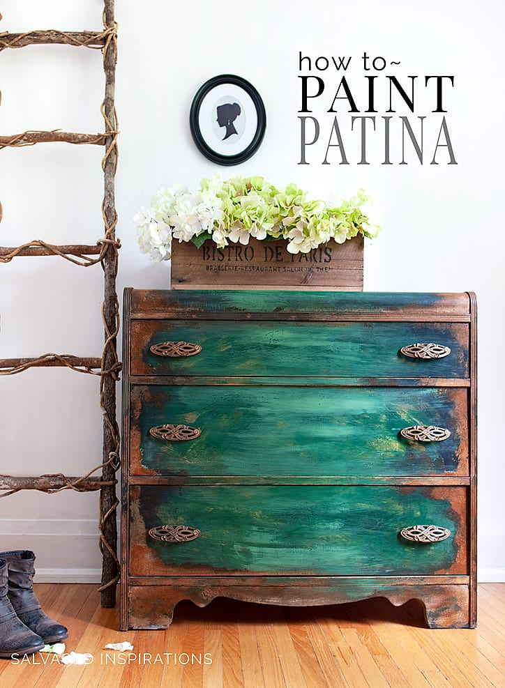 How To Paint Patina